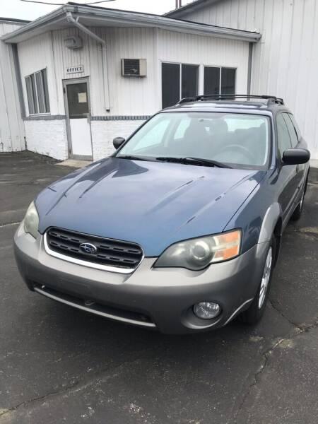 2005 Subaru Outback for sale at Riverside Garage Inc. in Haverhill MA
