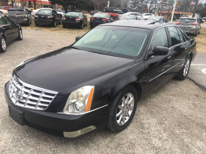 2011 Cadillac DTS for sale at Deme Motors in Raleigh NC
