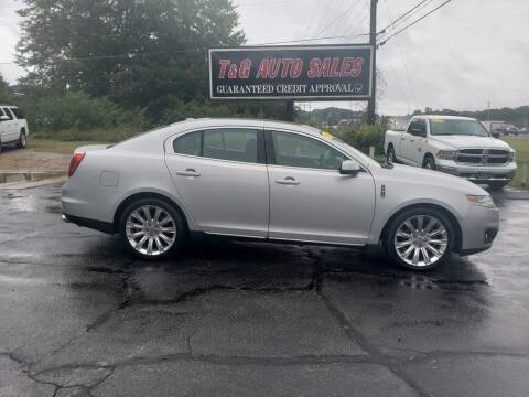 2009 Lincoln MKS for sale at T & G Auto Sales in Florence AL