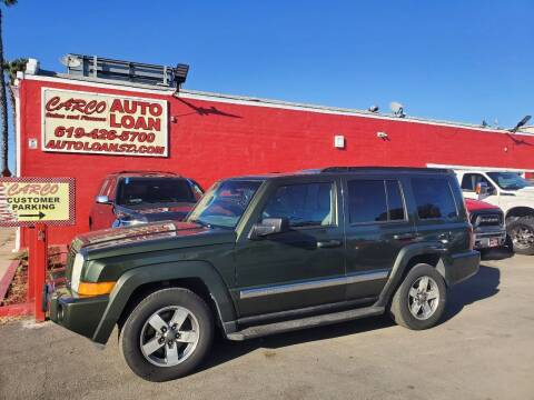 2006 Jeep Commander for sale at CARCO SALES & FINANCE in Chula Vista CA