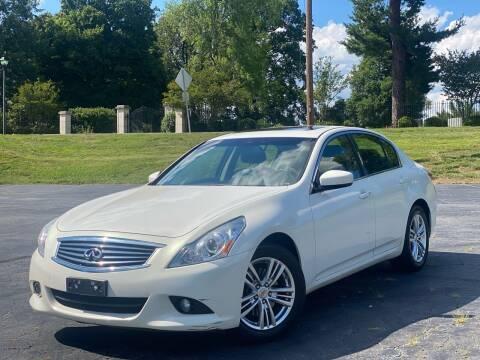 2013 Infiniti G37 Sedan for sale at Sebar Inc. in Greensboro NC