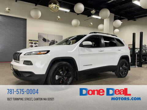 2016 Jeep Cherokee for sale at DONE DEAL MOTORS in Canton MA