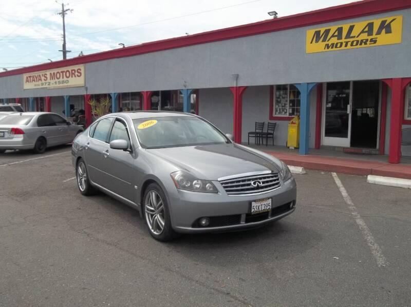 2006 Infiniti M35 for sale at Atayas Motors INC #1 in Sacramento CA