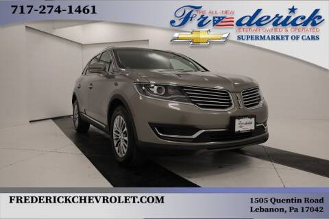 2017 Lincoln MKX for sale at Lancaster Pre-Owned in Lancaster PA