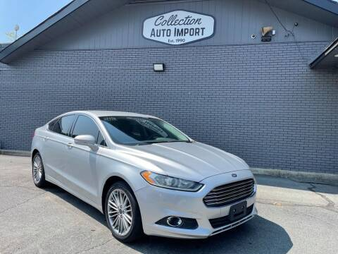 2014 Ford Fusion for sale at Collection Auto Import in Charlotte NC