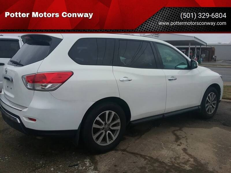 2014 Nissan Pathfinder for sale at Potter Motors Conway in Conway AR