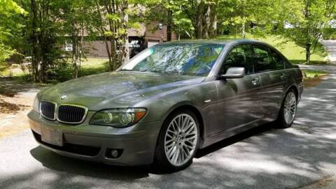 2007 BMW 7 Series for sale at JR AUTO SALES in Candia NH
