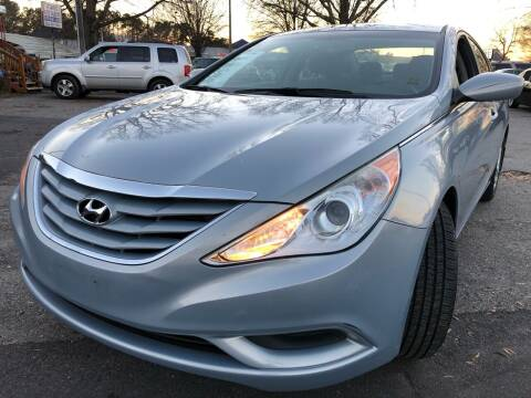 2012 Hyundai Sonata for sale at Atlantic Auto Sales in Garner NC