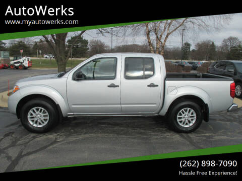 2019 Nissan Frontier for sale at AutoWerks in Sturtevant WI