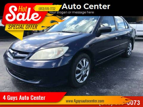 2005 Honda Civic for sale at 4 Guys Auto in Tampa FL