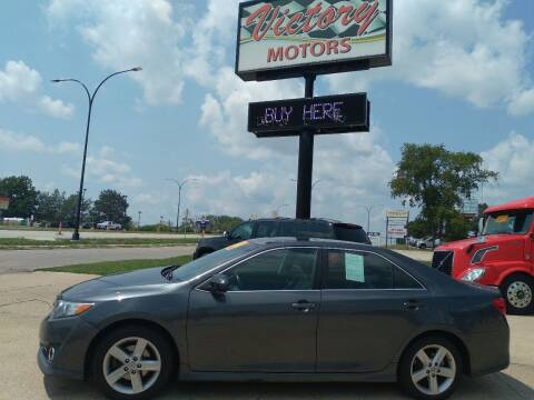 2012 Toyota Camry for sale at Victory Motors in Waterloo IA