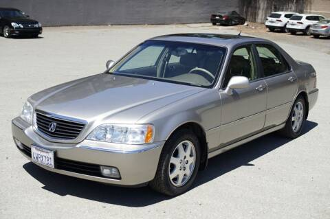 2002 Acura RL for sale at Sports Plus Motor Group LLC in Sunnyvale CA