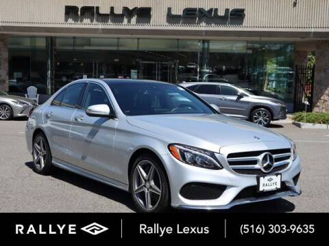 2015 Mercedes-Benz C-Class for sale at RALLYE LEXUS in Glen Cove NY