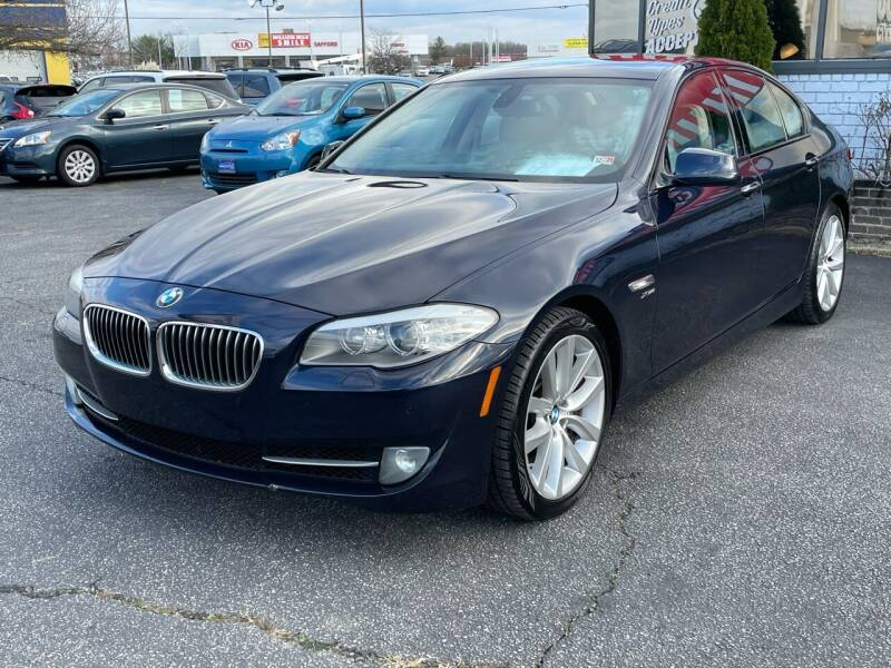 2011 BMW 5 Series for sale at Mack 1 Motors in Fredericksburg VA