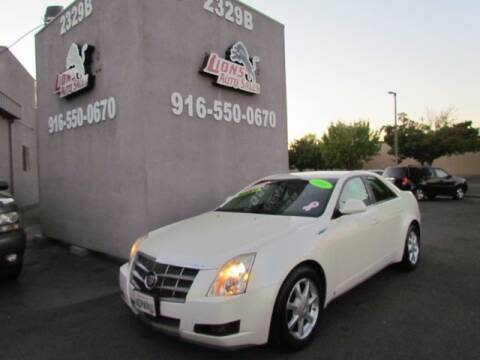 2008 Cadillac CTS for sale at LIONS AUTO SALES in Sacramento CA
