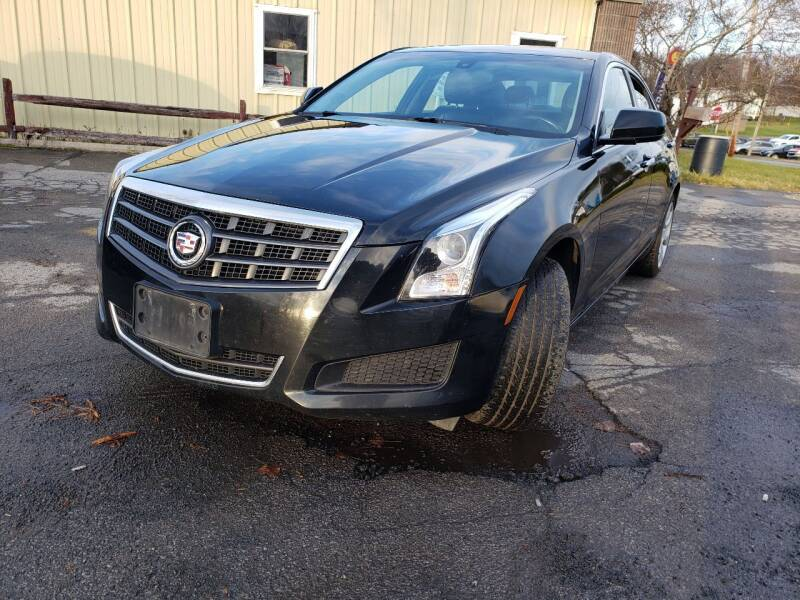 2013 Cadillac ATS for sale at GLOVECARS.COM LLC in Johnstown NY