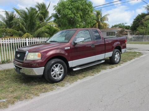 2006 Ford F-150 for sale at TROPICAL MOTOR CARS INC in Miami FL