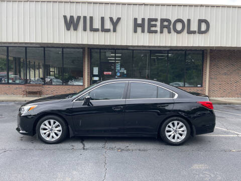 2015 Subaru Legacy for sale at Willy Herold Automotive in Columbus GA