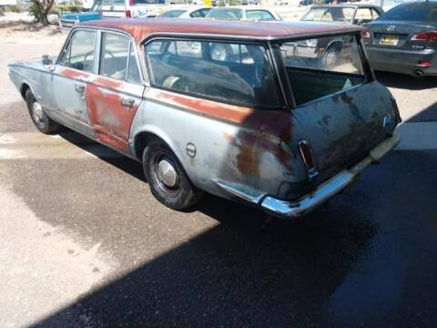 1964 Plymouth Valiant for sale at Classic Car Deals in Cadillac MI