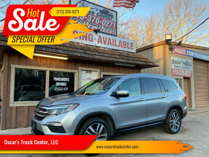 2016 Honda Pilot for sale at Oscar's Truck Center, LLC in Houston TX