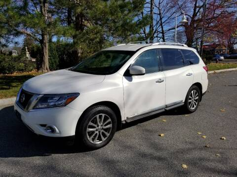 2014 Nissan Pathfinder for sale at Plum Auto Works Inc in Newburyport MA