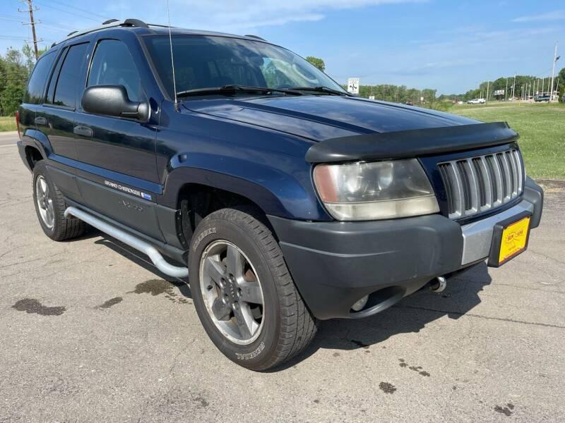 2004 Jeep Grand Cherokee for sale at Sunshine Auto Sales in Menasha WI