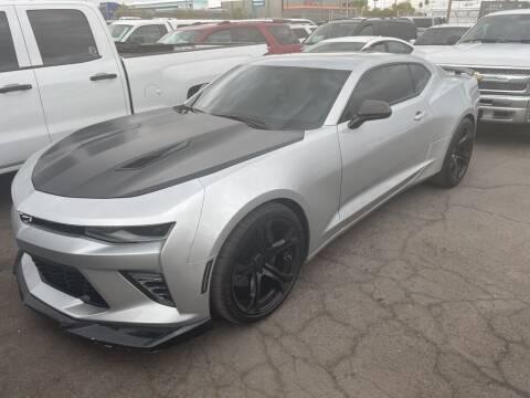 2018 Chevrolet Camaro for sale at SULLIVAN MOTOR COMPANY INC. in Mesa AZ