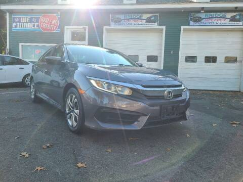 2016 Honda Civic for sale at Bridge Auto Group Corp in Salem MA
