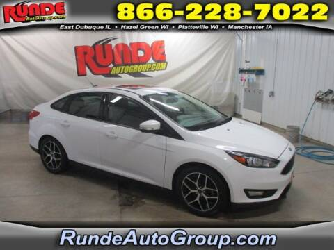 2018 Ford Focus for sale at Runde Chevrolet in East Dubuque IL