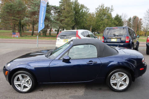 2007 Mazda MX-5 Miata for sale at GEG Automotive in Gilbertsville PA