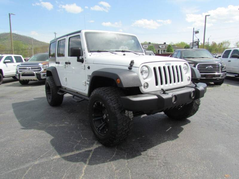 2016 Jeep Wrangler Unlimited for sale at Hibriten Auto Mart in Lenoir NC