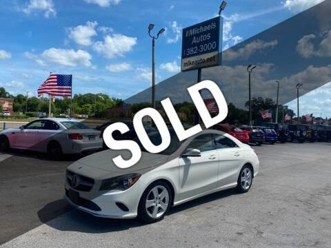 2017 Mercedes-Benz CLA for sale at Michaels Autos in Orlando FL