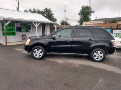 2005 Chevrolet Equinox for sale at Auto Pro Inc in Fort Wayne IN