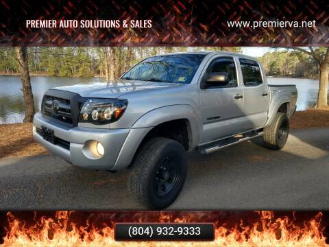 2007 Toyota Tacoma for sale at Premier Auto Solutions & Sales in Quinton VA