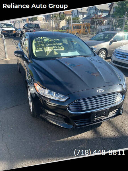 2015 Ford Fusion for sale at Reliance Auto Group in Staten Island NY
