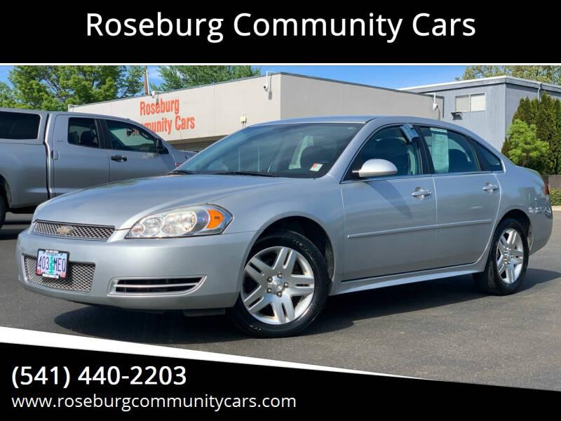 2012 Chevrolet Impala for sale at Roseburg Community Cars in Roseburg OR