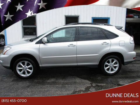 2008 Lexus RX 350 for sale at Dunne Deals in Crystal Lake IL