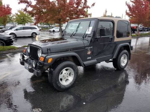 1999 Jeep Wrangler for sale at Horne's Auto Sales in Richland WA