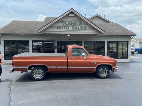 1983 Chevrolet C/K 10 Series for sale at Clarks Auto Sales in Middletown OH