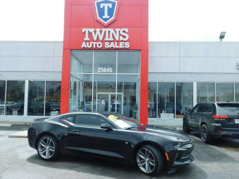 2016 Chevrolet Camaro for sale at Twins Auto Sales Inc Redford 1 in Redford MI