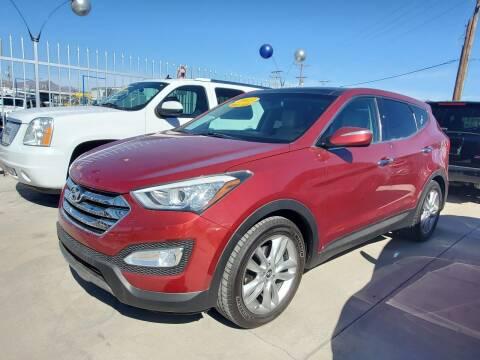 2013 Hyundai Santa Fe Sport for sale at Hugo Motors INC in El Paso TX