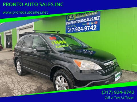 2009 Honda CR-V for sale at PRONTO AUTO SALES INC in Indianapolis IN