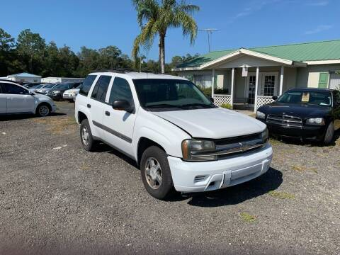 2004 Chevrolet TrailBlazer for sale at Popular Imports Auto Sales in Gainesville FL