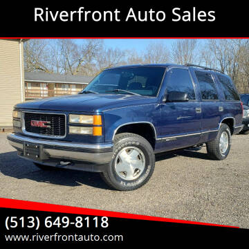 1999 GMC Yukon for sale at Riverfront Auto Sales in Middletown OH