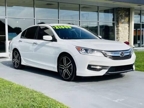 2016 Honda Accord for sale at RUSTY WALLACE CADILLAC GMC KIA in Morristown TN