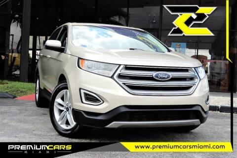 2018 Ford Edge for sale at Premium Cars of Miami in Miami FL