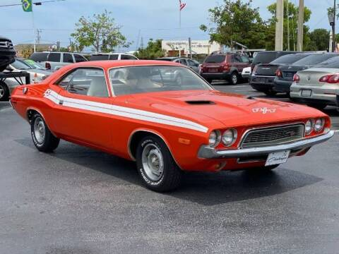 1974 Dodge Challenger for sale at Classic Car Deals in Cadillac MI
