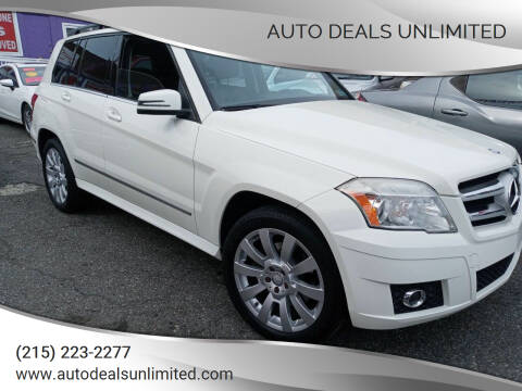 2011 Mercedes-Benz GLK for sale at AUTO DEALS UNLIMITED in Philadelphia PA
