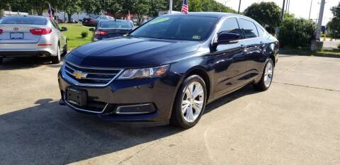 2014 Chevrolet Impala for sale at A-1 Motors in Virginia Beach VA