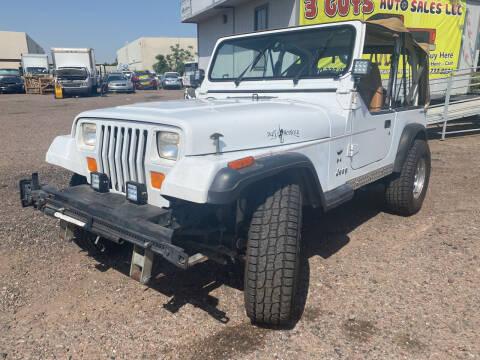 1994 Jeep Wrangler for sale at 3 Guys Auto Sales LLC in Phoenix AZ